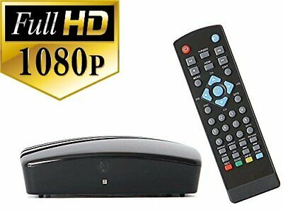 USED Digital Converter Box w/ RF Cable to View/Record HD Local Channels