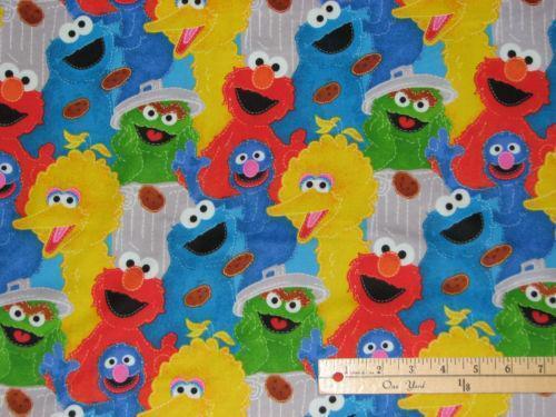 Cookie Monster Fabric Ebay