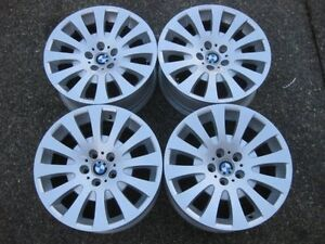 "Nice set of OEM Factory BMW BBS 18"" E63 Rims in excellent condit"