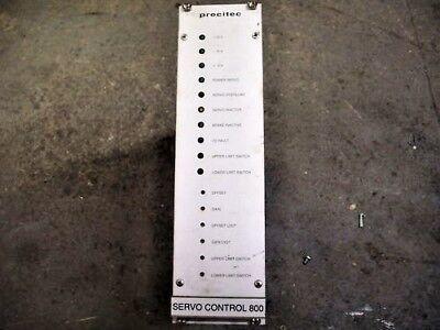 Precitec Lasermatic P0800-100-00002 Servo Control
