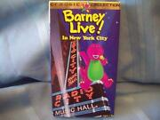Barney Live in New York City VHS