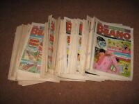 Collection of Beano Comics - Very Good Condition from 17/05/1986 to 08/04/1989