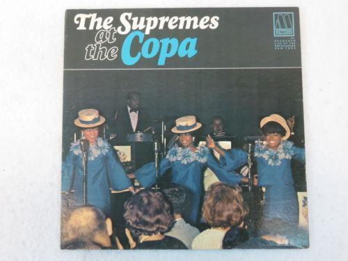 The Supremes At The Copa Records Ebay