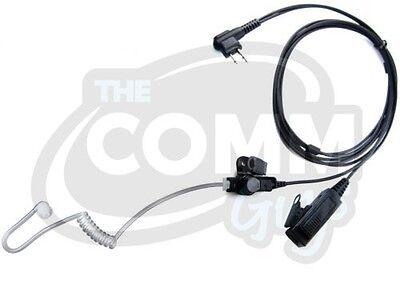 2wire Surveillance Mic Earpiece For Motorola Cp200 Pr400 ...