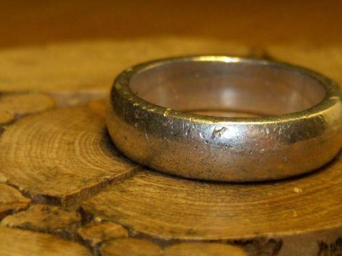 Sterling Silver Rings Mens Heavy Ebay