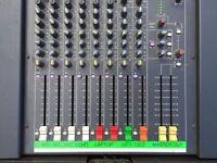 Soundcraft Spirit Folio F1 14-2 with flightcase, great pro mixer in good shape, works perfectly