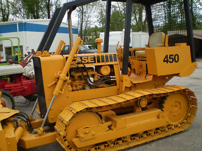 Reproduction CASE dozer crawler 450 decal kit