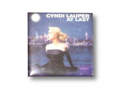 Cyndi Lauper -NEW At Last Magnet- 2X2 $6.00 SALE FREE SHIPPING TO U.S.!