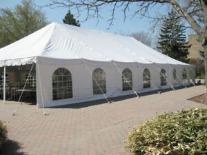 chairs, tables, linen, Tent fan rentals