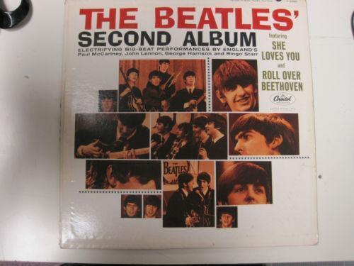 The Beatles Second Album Records Ebay