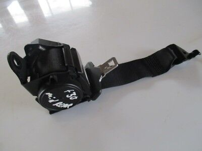 BMW F30 F80 M3 3 SERIES CENTRE REAR SEAT BELT SEATBELT BLACK GENUINE BREAKING
