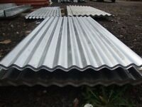 brand new 8ft long galvanized corrugated roofing sheets