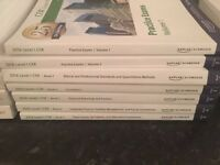 2016 Kaplan Schweser CFA Level 1 Books 1-5 And Practice Exams Vol 1 & 2