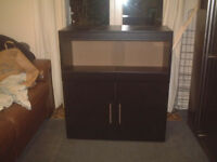 brand new 3ft vivarium and cabinet in black