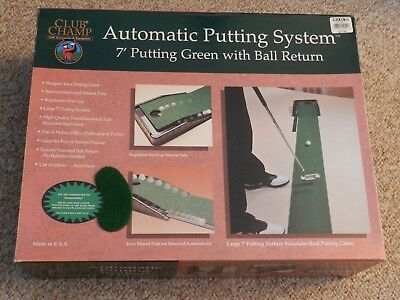 Automatic Putting System Club Champ Golf Accessories & Equipment