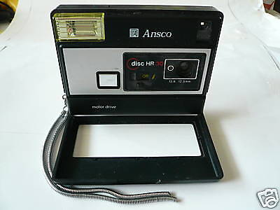 ANSCO DISC HR 30  Motor Drive CAMERA in Great Shape