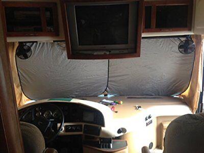 RV Motor Home, Class A, Motor Coach, Sun Shade, Window Shade, 2 pc, Extra Jumbo!