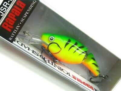 Yellow Perch YP Rapala Wobbler Jointed Shad Rap 5cm JSR05
