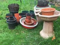 Huge Collection of Hanging Baskets and Plant Pots BARGAIN!