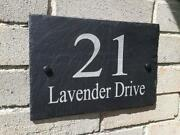 Personalised House Number Plaques
