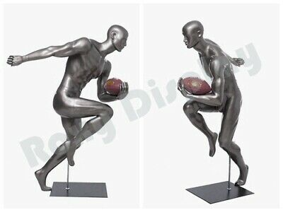 Male Mannequin Muscular Football Player Dress Form Display Mc-brady10