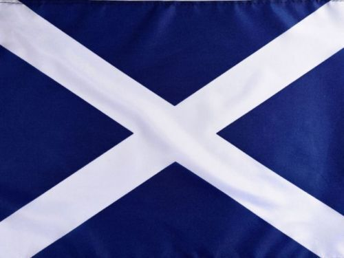 3ft x 2ft Navy Blue Scottish Saltire St Andrew Scotland National Flag