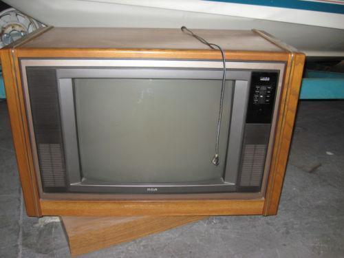 Vintage Console TV EBay