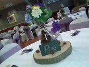 Wedding Table Centrepieces Purple