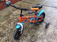 Disney Planes Kids Bike 14 Inches Orange 3-6 years old