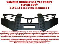 ATV BUMPERS Bush Guards Yamaha Grizzly ( canam honda suzuki )