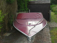 project 14ft speedboat syms super v on trailer