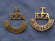 WW1 Shoulder Titles