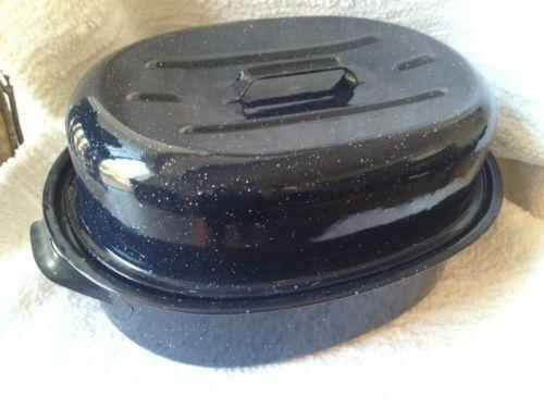 Roasting Pan With Lid Cookware Ebay