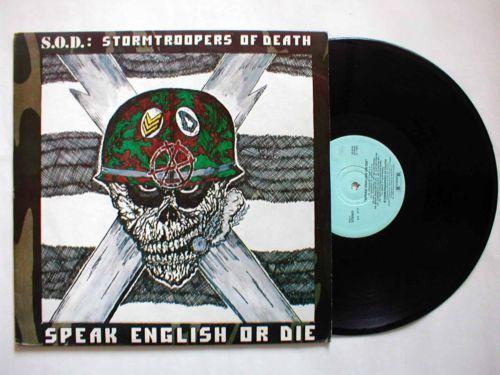 Sod Speak English Or Die Ebay