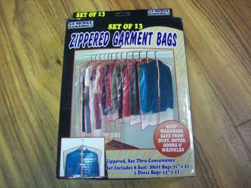 Plastic Garment Bags Ebay