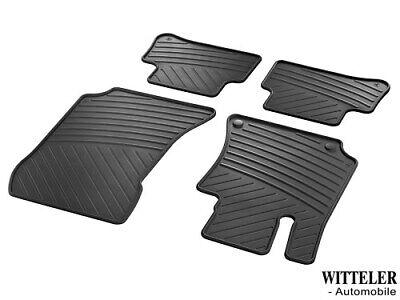 Für Mercedes E Klasse W212 Gummi Automatten Hohe 3D Fußmatten Beige 2009-2014