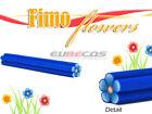 Blue Nail Art Fimo