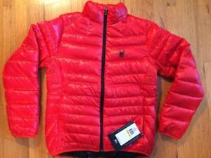 Spyder Puffer Primo Down Down Jacket NWT 357006 Size Medium