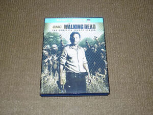 THE WALKING DEAD BLU-RAY COMPLETE FOURTH SEASON LENTICULAR COVER