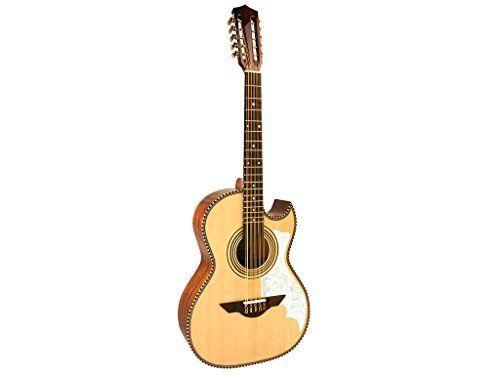 H. Jimenez El Musico Acoustic Cutaway Bajo Quinto Natural, LBQ2