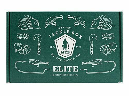 Mystery Tackle Box Elite Bass Fishing Kit