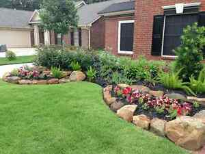 Custom landscaping and garden builds. Shawn's Call contracting London Ontario image 2