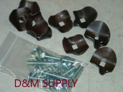 80 Pack To Fit New Holland Hay Rake Teeth Hold Down Clips 256 258 56 55 57 259