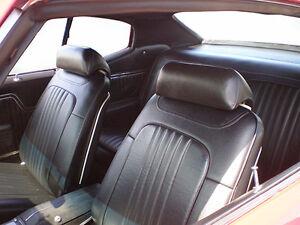 1971 1972 chevelle hardtop deluxe bucket seat interior kit black ebay