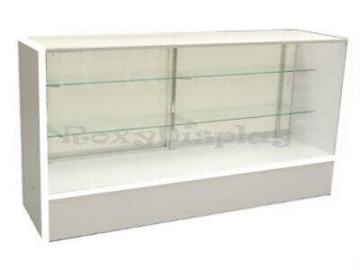 70 White Full Vision Showcase Display Store Fixture Knocked Down Sc-sc6wx