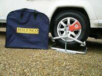 brand new Milenco Aluminium Caravan Motorhome Leveller Level & Bag