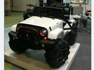 Real 4X4 Jeep Ride On Cars RC for Kids & Toddlers 647-640-0187