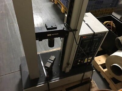 Instron Tensile Tester Model 1011 120v 30 Day Warranty Nice Unit