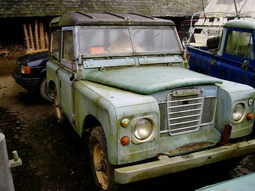 Land rover series 3 Wanted.