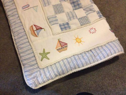Sailboat Crib Bedding Ebay